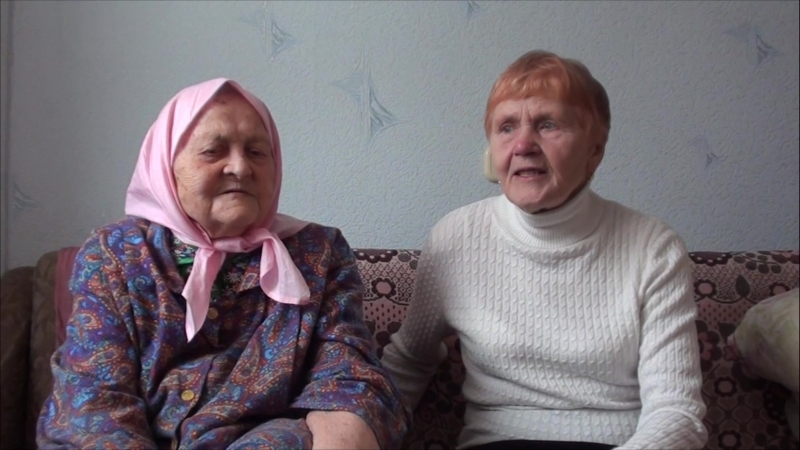 Maļvina i Aleksandrina dzīd div bolsūs (17.12.2017 Krasnojarskā)