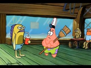 Эй, приятель, ты что, совсем тупой? Sponge Bob