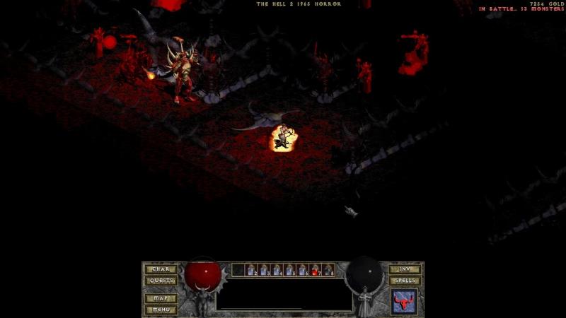 TH2 Horror Diablo kill Scout