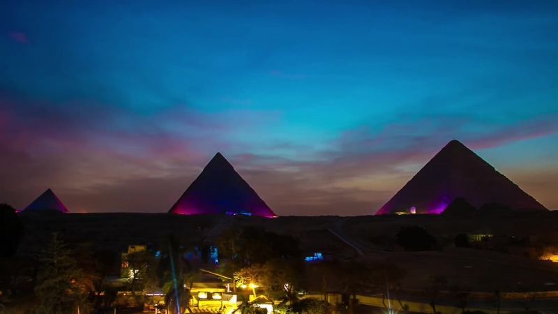 Time Lapse - Pyramids In Motion