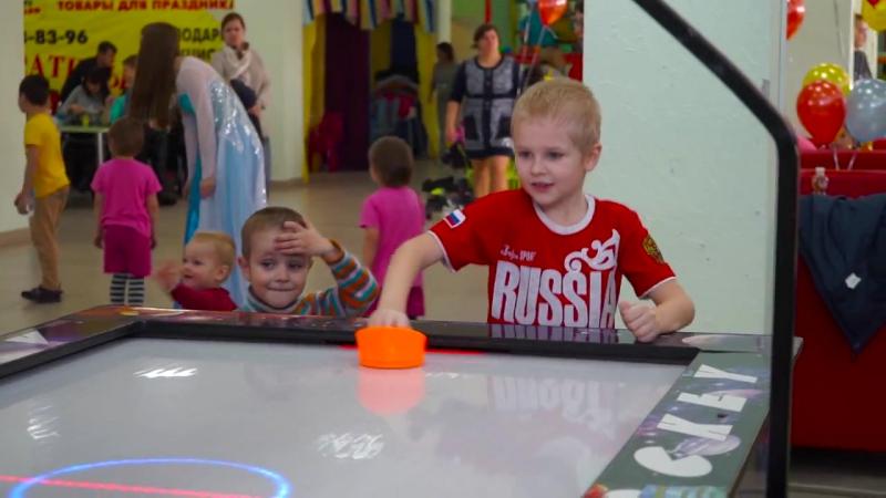 Открытие Детского развлекательного центра Десятое королевство vk.com/10kingdom_berdsk