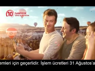 Kıvanç Tatlıtuğ/ Kıvanc Tatlıtug - Akbank Direkt Mobil Reklam Filmi