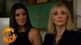 OCEANS8 Cate Blanchett, Awkwafina, Sandra Bullock being on the take!