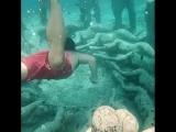 Подводные статуи в Мексике