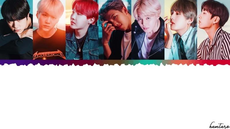 [FULL VER] BTS (日本語字幕) - Dont Leave Me Lyrics [Color Coded_Kan_Rom_Eng]