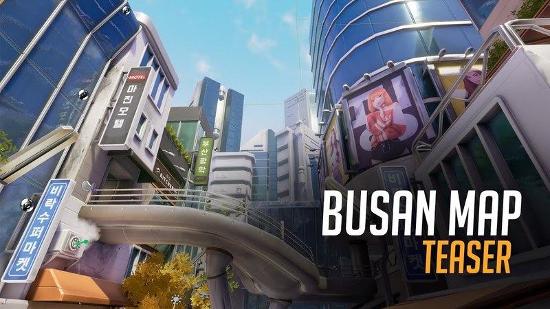 Busan Map (Teaser) | Overwatch Inspired