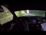 Авария с винтажным раллийным Ford Escort Cosworth 1991