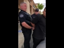 Police Offer and Man Engage in Altercation ViralHog