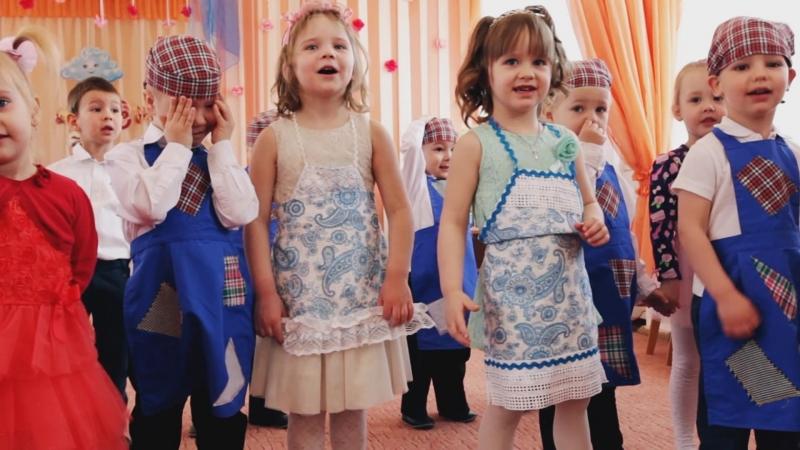 8 марта в детском саду № 36, нарезочка:)