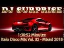 DJ Surprise Italo Disco Mix Vol 32 Mixed 2018