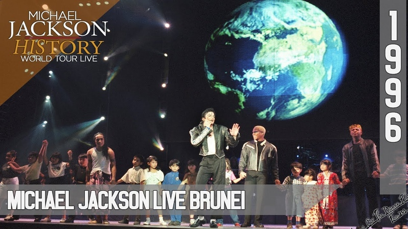Michael Jackson Live HIStory World Tour Brunei 1996 50fps