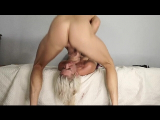 Rough sloppy upside down throatfuck and belt spanking with stupid hooker(homeporn.tv)