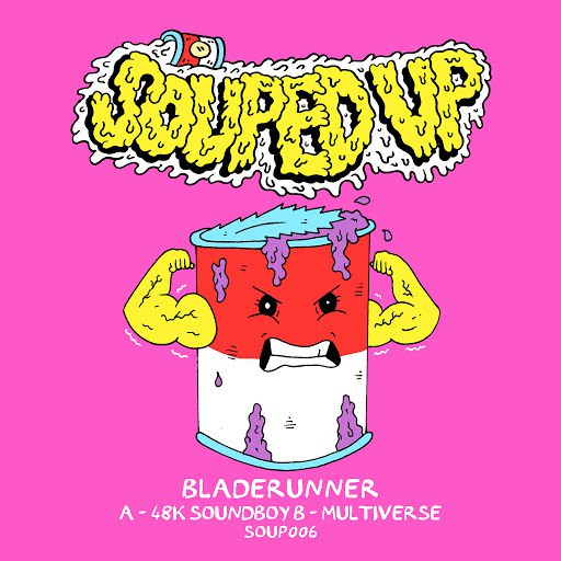 Bladerunner альбом 48K Soundboy / Multiverse