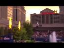 Прыжок через фонтан знаменитого казино Сизарс-Палас , Трэвис Пастран