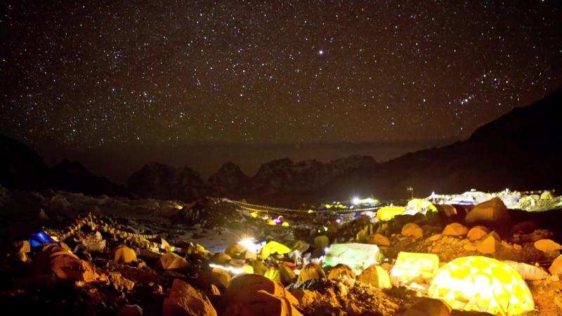 Вершина Мира – Эверест.