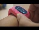 Обзор детских часов Smart baby watch Q50 с GPS трекером