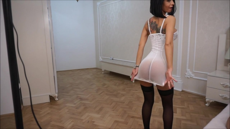 Anisyia Live Jasmin modeling extremely hot outfit at her new place (вебка, порно, секс,