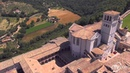 Assisi ИFLYCAM VIDEORIPRESE AEREE CON DRONE Basilica di San Francesco Assisi