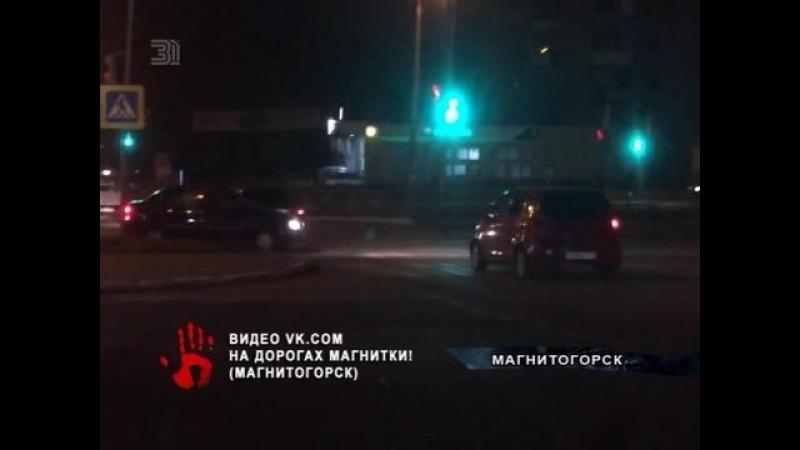 Водитель видимо перепутав дороги выехал на полосу встречного движения