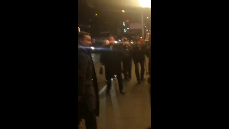 November 20: Fan taken video of Selena arriving at the Lupus Research Alliance Gala In New York, NY