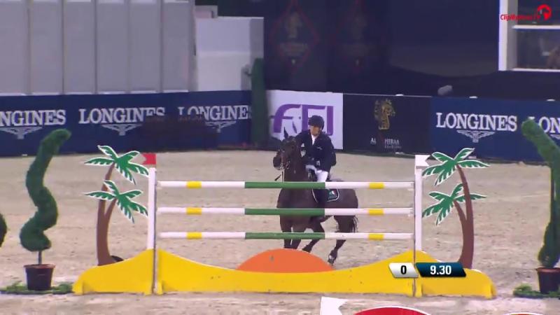 Henrik von Eckermann _ Grand Prix _ Al Shiraaa Horse Show _ 2018