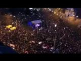 Демонстрация в Братиславе после убийства журналиста Яна Кучака
