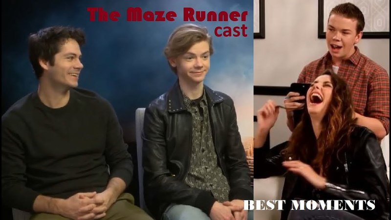 Maze Runner cast Funny Cute Moments