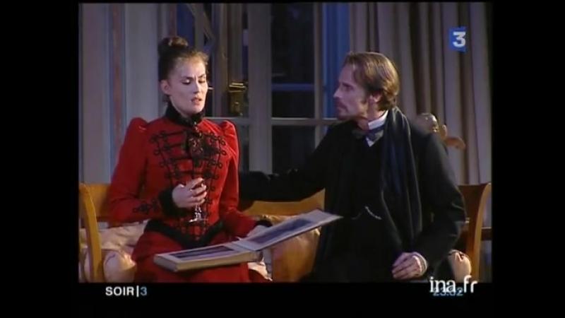 HEDDA GABLER au théâtre Marigny mise en scène de Roman Polanski