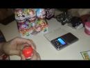 Распаковка новогодней серии яиц Киндер сюрприз часть первая