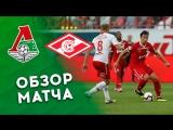 «Локомотив» – «Спартак» – 0:0. Обзор матча