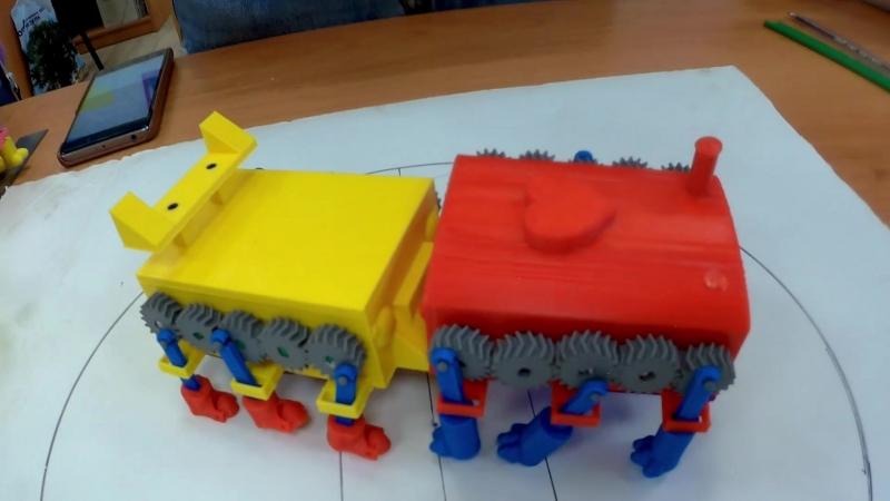 Роботы выпускников 1 модуля курса «Основы 3D-моделирования и прототипирования»