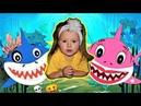 Shark Family Song я Каролина на детской площадке Baby Shark Dance /Sing and Dance! / Animal Songs /