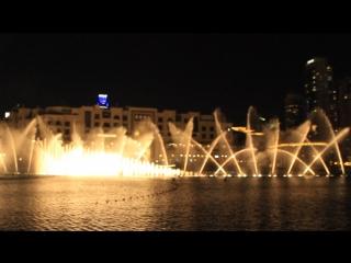 Дубай.фонтан.энрике эглесиас. 2018 г.