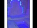 ⭕Белый потолочек выполнен как основной источник освещения с помощью светодиодной ленты расположенной по всей площади потолка😍 Уп