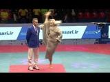 Cụ ông 80 tuổi biểu diễn Kungfu thâm hậu - Gây sock- 80 Year Old Man Martial arts demonstration