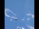 Космонавт Олег Артемьев показал, как выглядит спутник, пролетающий