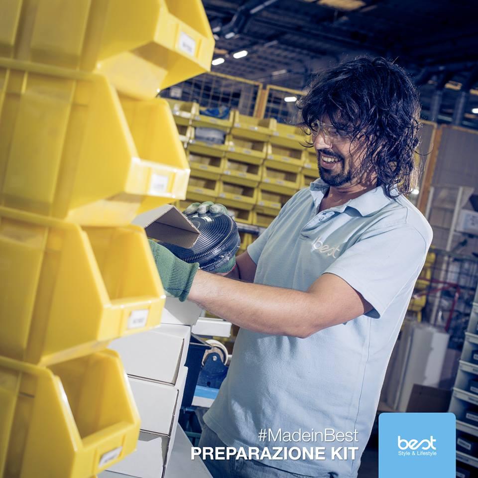 завод вытяжек BEST в Италии