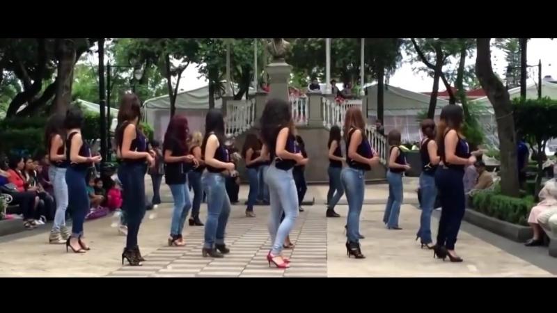 🌎 18 🔥 Вите надо выйти 60 мин. подряд танец полностью Бабы Крутят Попами █ ▆ ▅