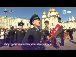 Ряды президентского полка пополнили 285 новобранцев
