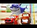 Bebê Tubarão Dança Cantar e a viagem! Animal Músicas McQueen E Amigos Berçário Rimas para Crianças