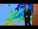 ZDF heute-journal 14.01.2009 Wetter - Chemtrails