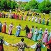 Троицкие хороводы в Орловском полесье