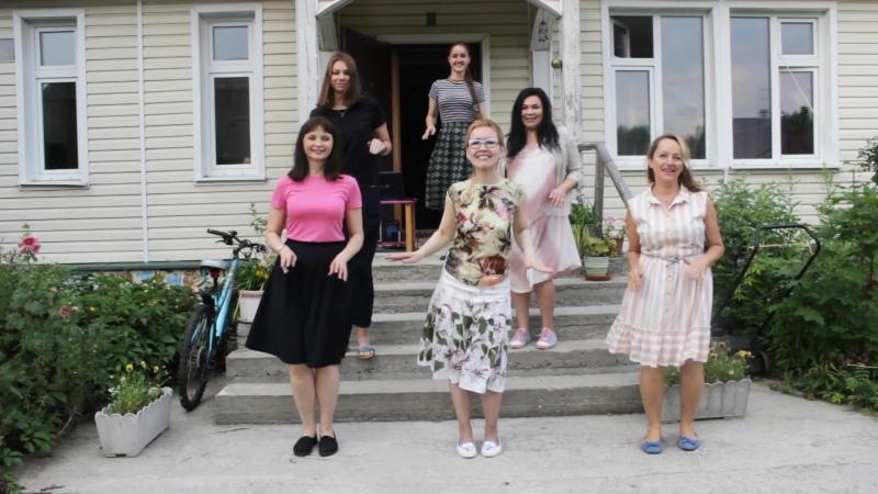 22 июля порисовали домик мечты) и отпраздновали день рождения новых художников!