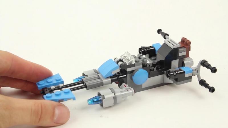 Конструктор LEGO Star Wars. Спидер охотника за головами 75167
