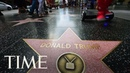 West Hollywood Council Passes Resolution To Remove President Trumps Walk Of Fame Star TIME