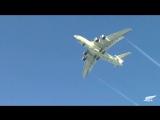 Видео первого полета новейшего топливозаправщика Ил-78М-90А