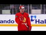Тренировка сборной России в SlowMo
