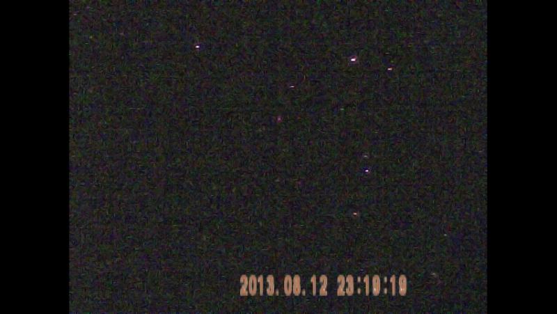 Ночное небо в ИК диапазоне,в конце Галактика Андромеды.