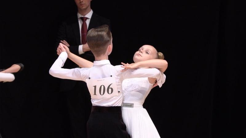 Моцный Георгий - Костенко София, Quickstep | Дети-2 Европейская программа