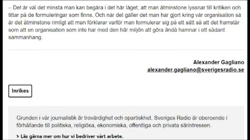 Expo SR ljuger - Blir utskrattade av FOI